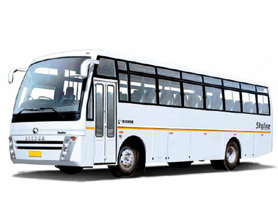 eicher bus